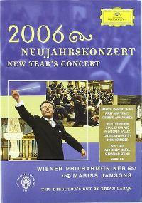 Cover Wiener Philharmoniker / Mariss Jansons - Neujahrskonzert 2006 [DVD]